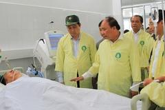 Thủ tướng thăm hỏi nhà có 2 con nhỏ mất tích vụ chìm tàu