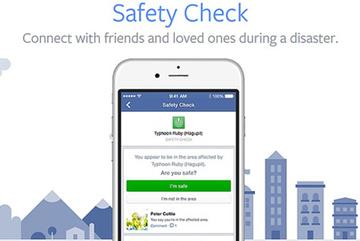 Facebook trao chế độ Safety Check cho người dùng