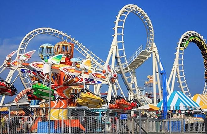 công viên Disneyland, xây công viên công viên Disneyland ở Hà Nội, xây công viên gần cầu nhật tân