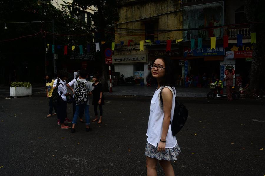 Nữ sinh, ĐH Mỹ, THPT chuyên ĐHQG Hà Nội, học sinh lớp 12, học bổng ĐH Mỹ