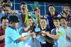 ĐT Việt Nam đè bẹp Singapore, vô địch cúp Tứ hùng