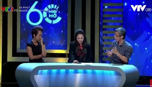 MC Phan Anh, tiến sĩ Đặng Hoàng Giang, 60 phút mở