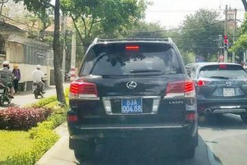 Tỉnh ủy Sóc Trăng trả Lexus cho công an