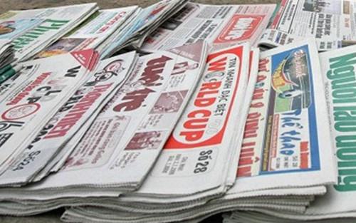 Báo cáo Chính phủ tình hình triển khai Quy hoạch Báo chí