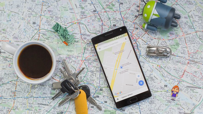 Google Maps, smartphone, Android