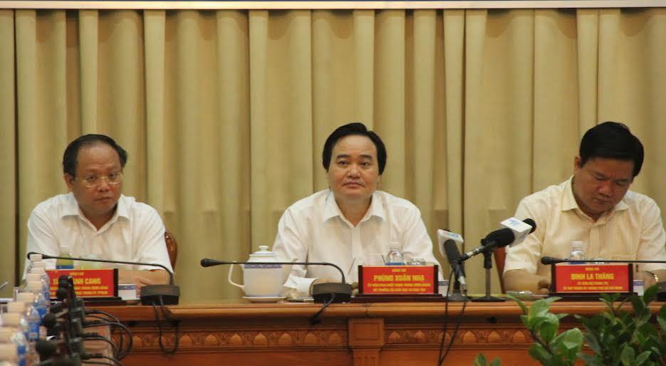 Bí thư Thăng, Đinh La Thăng, Bộ trưởng Giáo dục, Bộ trưởng Phùng Xuân Nhạ, dạy thêm, giáo viên dạy thêm