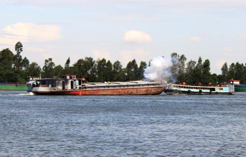 diện tập, cứu nạn, CSGT đường thủy, tai nạn đường thủy, người bị nạn