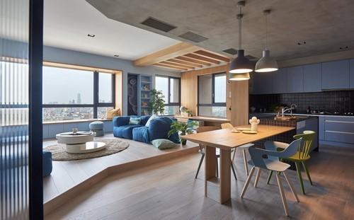 thiết kế căn hộ, thiết kế căn hộ cho nhà có con nhỏ