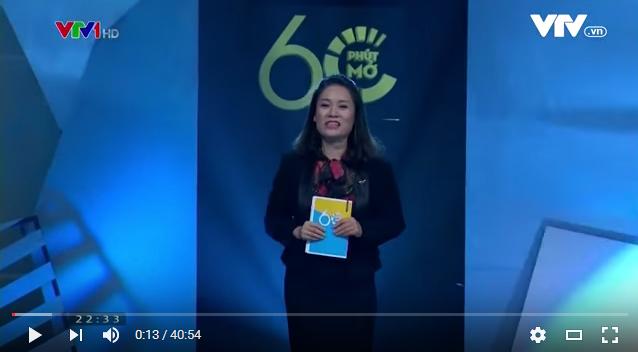 MC Tạ Bích Loan, 60 phút mở, Phan Anh, TS Đặng Hoàng Giang, Thái Thùy Linh