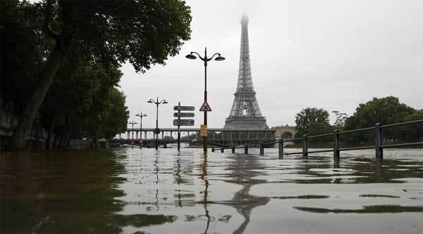 Xem London, Paris ngập nặng hơn Hà Nội