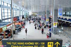 Sét đánh mất điện, sân bay Nội Bài dừng 2 phút