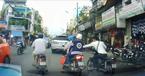 Bắt kẻ cướp giật trên phố bị camera ô tô ghi hình