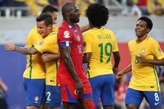 Coutinho nổ hat-trick, Brazil hủy diệt Haiti 7-1