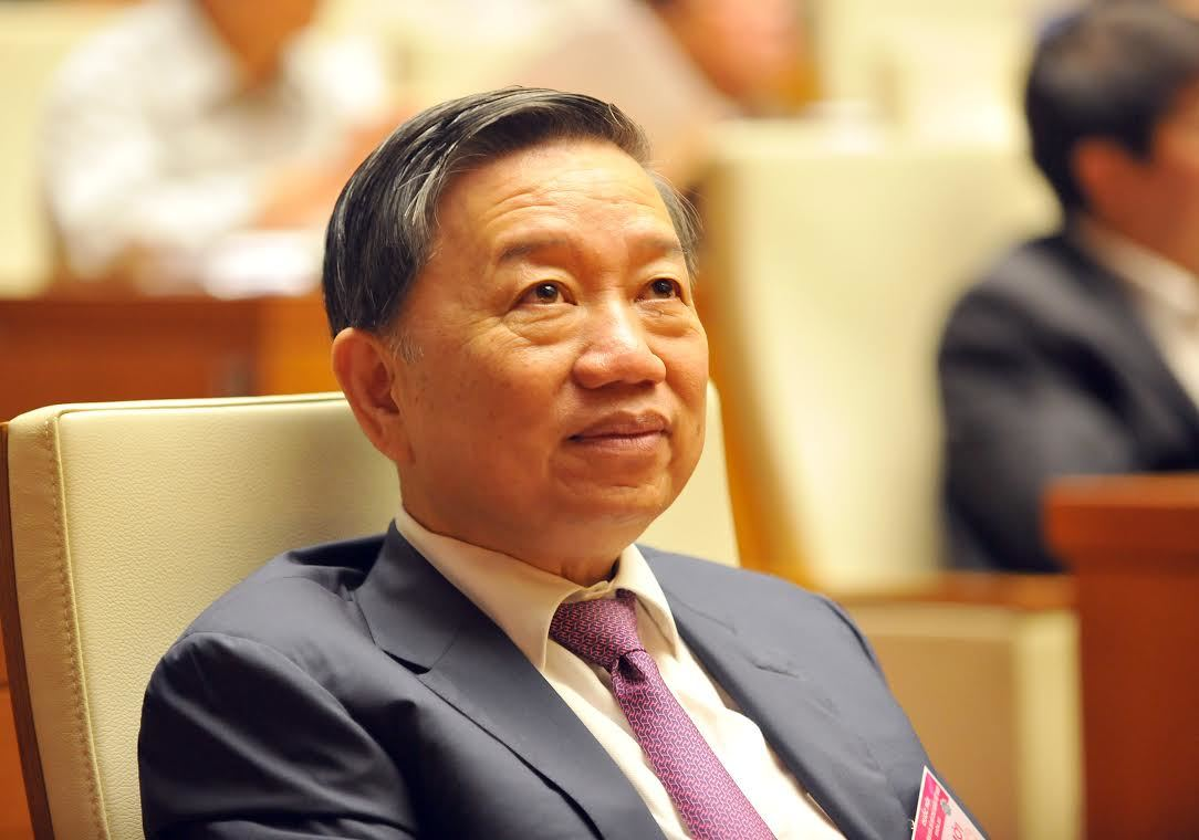 tướng lĩnh ĐBQH, Bộ trưởng Quốc phòng Ngô Xuân Lịch, Bộ trưởng Công an Tô Lâm