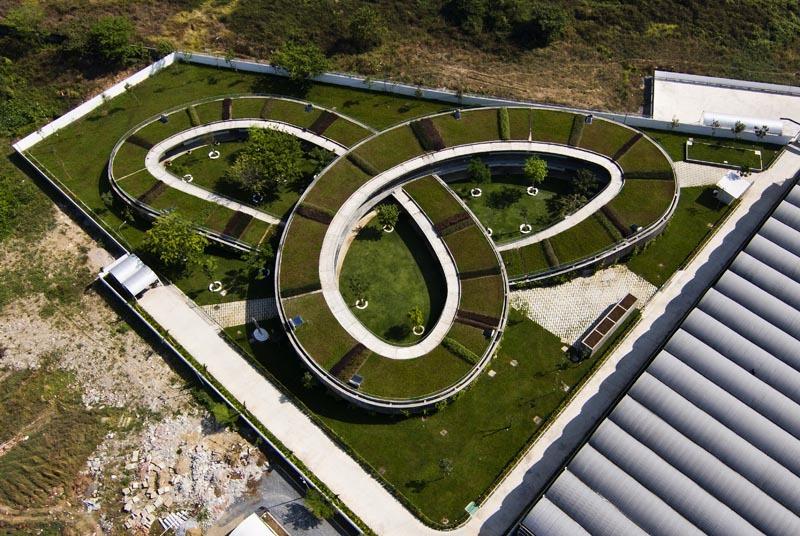 Thăm trường mầm non trong danh sách kiến trúc đẹp quốc tế