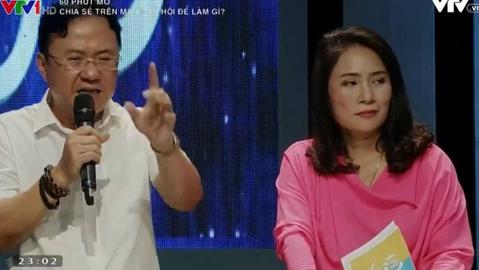 'Ném đá' dữ dội MC Tạ Bích Loan, có nên đóng cửa '60 phút mở'?