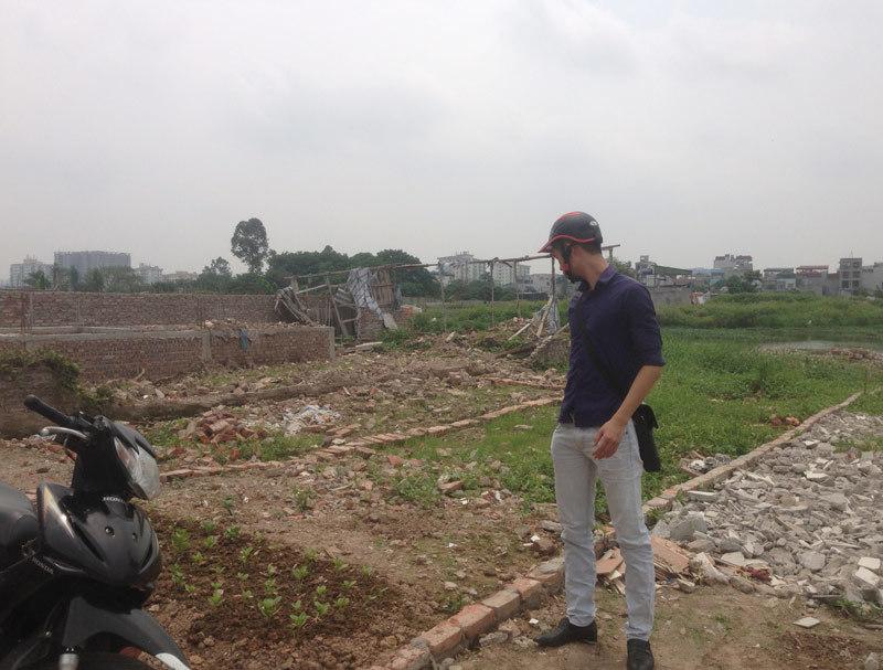 Băm ruộng, xây nhà trái phép: Phó chủ tịch quận lên tiếng