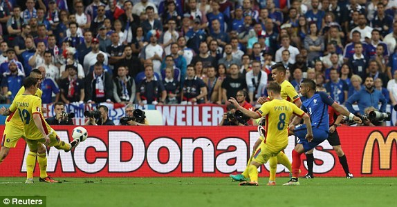 Video Pháp 2-1 Romania