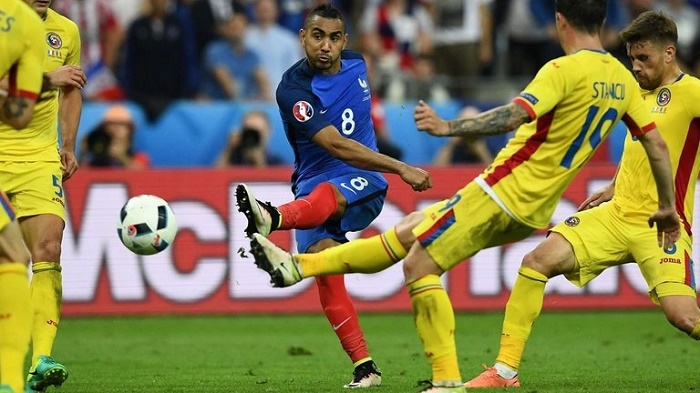 EURO 2016, Deschamps, pháp, Romania, payet
