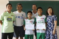 Thêm 2 tài năng nhí vào học viện bóng đá JMG