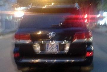 Lexus của Phó chủ tịch tỉnh gắn biển xanh tồn kho