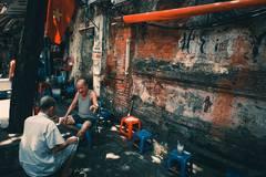 Trà đá vỉa hè Hà thành: Mô hình kinh doanh đáng nể