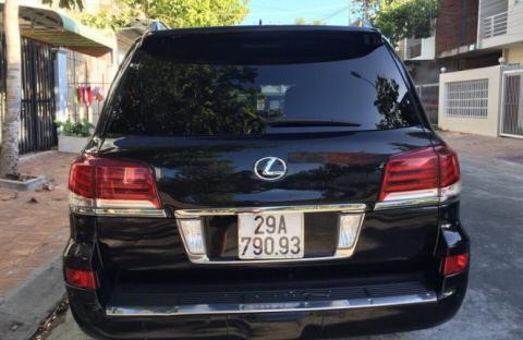 Lexus gắn biển xanh, Phó Chủ tịch Hậu Giang, Trịnh Xuân Thanh