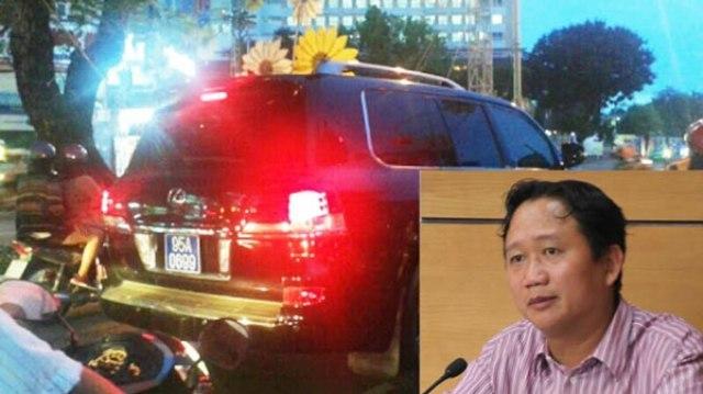 Xe lexus gắn biển xanh, Phó chủ tịch Hậu Giang, Trịnh Xuân Thanh, xe tư gắn biển xanh