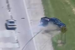 Ngoạn mục màn chặn kẻ cướp ô tô của cảnh sát Mỹ