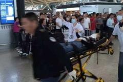 Video nổ lớn ngay giữa sân bay Thượng Hải