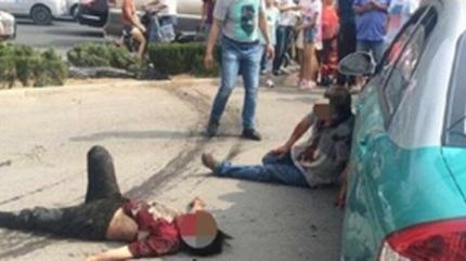 Hãi hùng pha 'truy sát' bằng ô tô gây náo loạn đường phố
