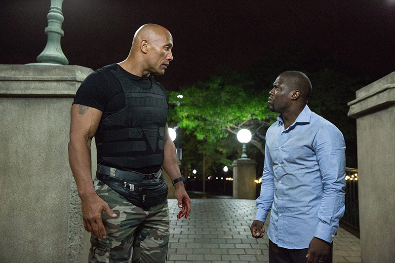 Dwayne Johnson, Fast & Furious, Central Intelligence