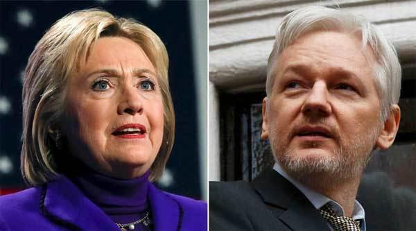 WikiLeaks, thư điện tử, bê bối, Hillary Clinton, bầu cử TT Mỹ, ứng viên TT Mỹ