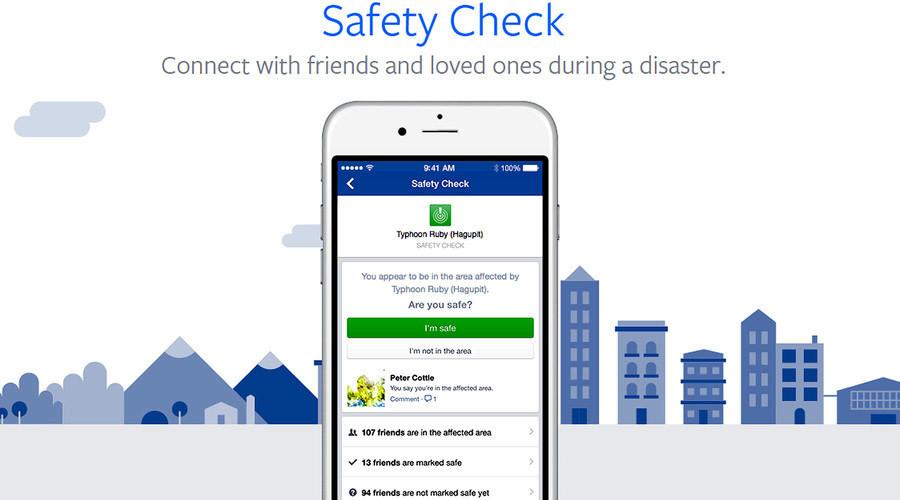 Facebook kích hoạt 'Safety Check' sau thảm sát ở Mỹ