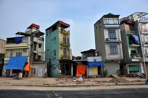 Dự án đường Vành đai 1,  nhà biến thành hầm, đường đắt nhất hành tinh, nhà dị dạng, kiến trúc độc, lạ