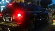 Hậu Giang báo cáo TƯ vụ Phó chủ tịch đi Lexus biển xanh