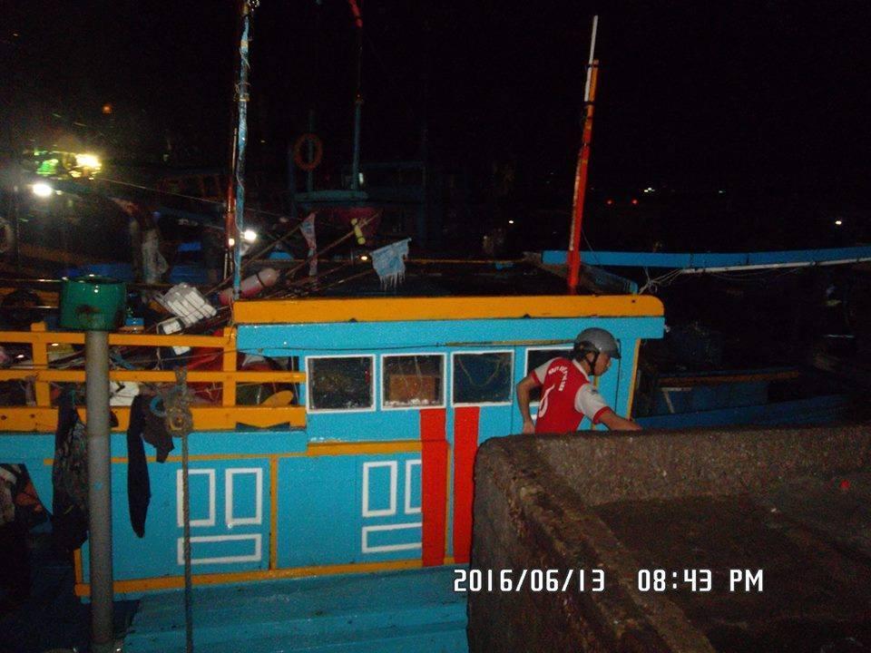 Hàng trăm ngư dân hoang mang vì tàu cá bất ngờ trôi ra biển