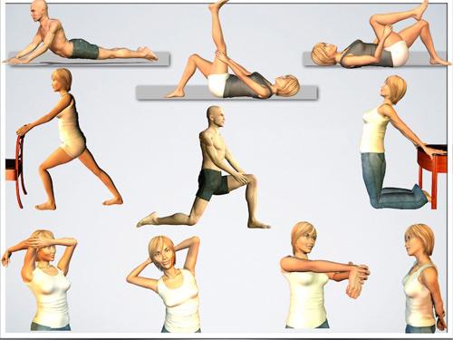 Những bài tập hỗ trợ chữa bệnh gout
