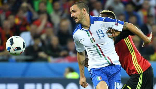 Bonucci và đặc sản siêu trung vệ Italia