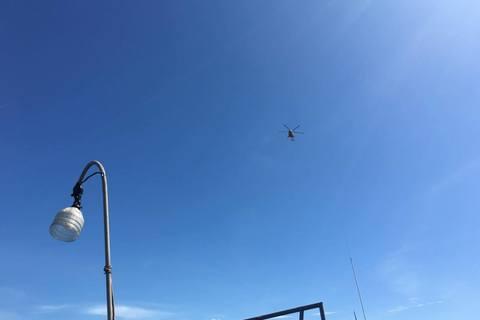 Trực thăng quần thảo tìm kiếm SU30 mất tích