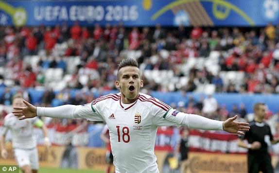 Video bàn thắng trận Áo 0-2 Hungary