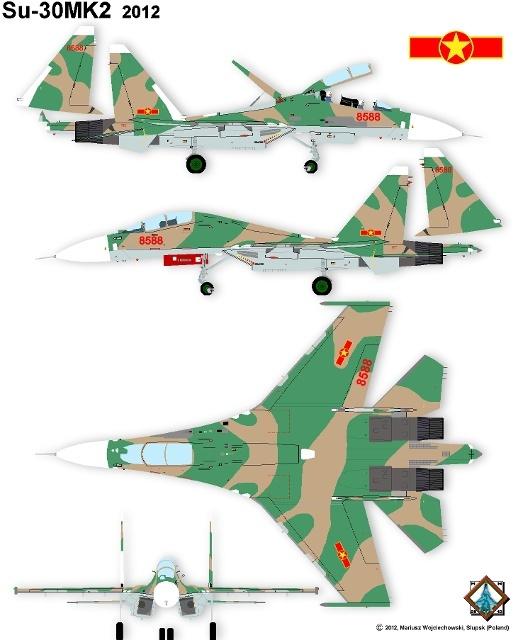 Su-30, Su-30MK2, máy bay chiến đấu