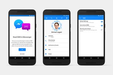 "Facebook ""hồi sinh"" tin nhắn SMS trên Messenger cho Android"