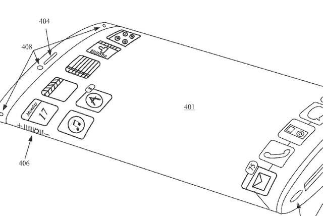 iPhone sẽ có màn hình uốn dẻo và trong suốt?