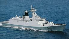 Tàu chiến Trung Quốc đi vào lãnh hải Nhật