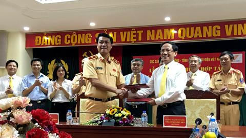 Bưu điện, Cục Cảnh sát giao thông, VietnamPost