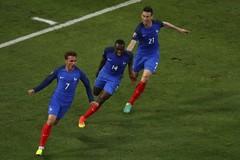 Video bàn thắng Pháp 2-0 Albania