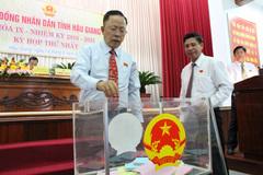 Hậu Giang chưa bầu 1 Phó chủ tịch, không phải không bầu