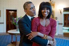 Khoảnh khắc Obama khiến vợ mê mẩn