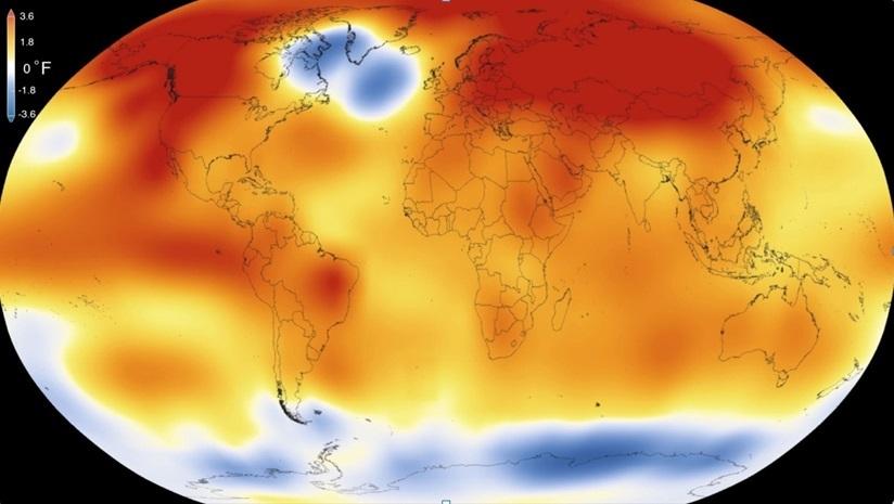 Trái Đất, nắng nóng